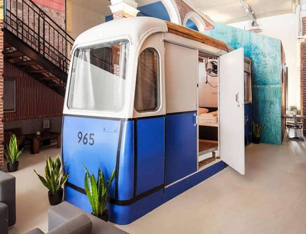 Amsterdam : hôtels insolites