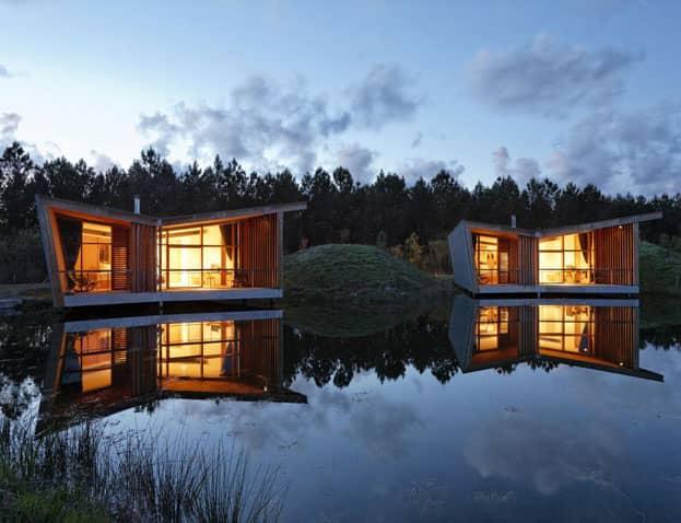 Cabanes et hôtels sur l'eau : notre best of