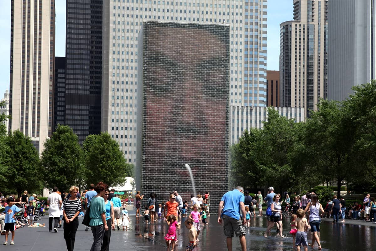 Chicago Crown Fountain