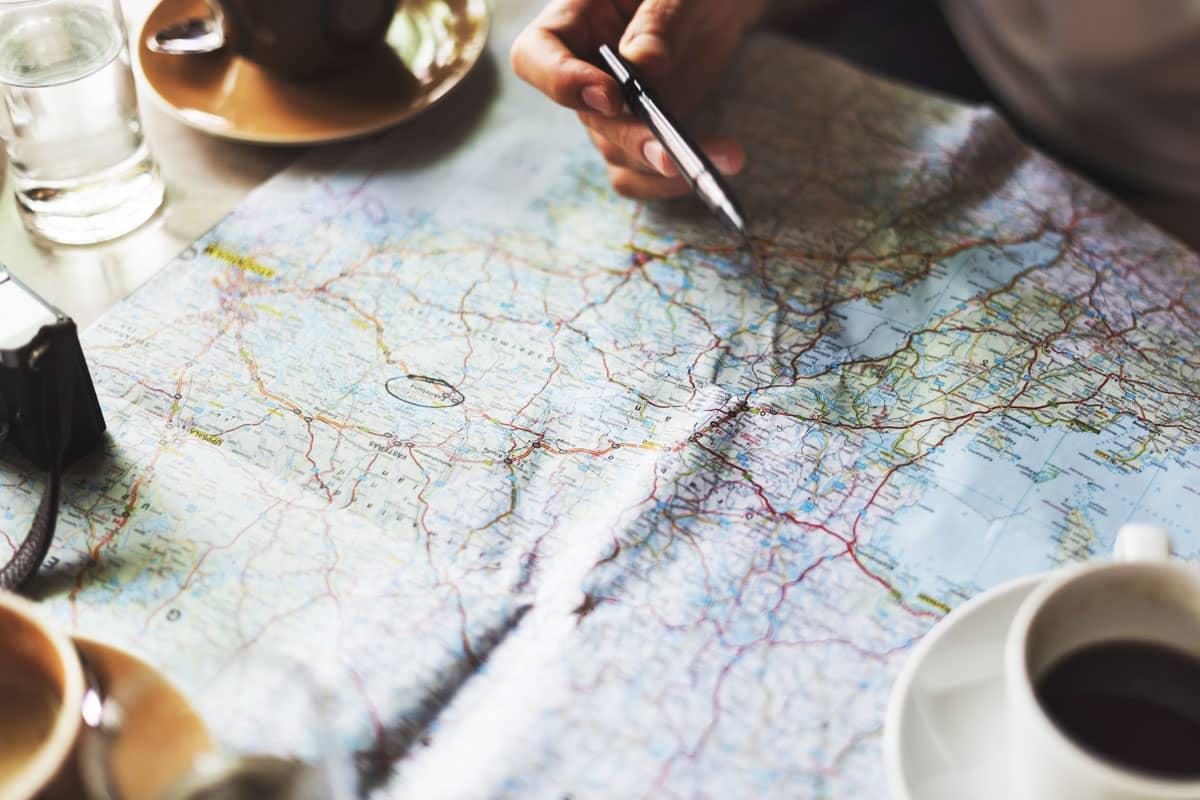 App pour comparer les moyens de transport en Europe