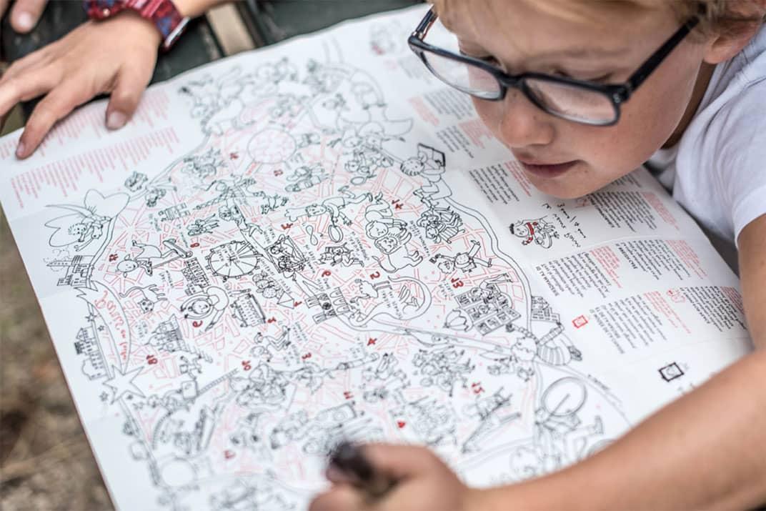 Miniminimap : cartes de voyage à colorier pour enfants