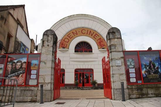 Cinéma Eden sur la Nationale 7, Cosnes-Cours-sur-Loire