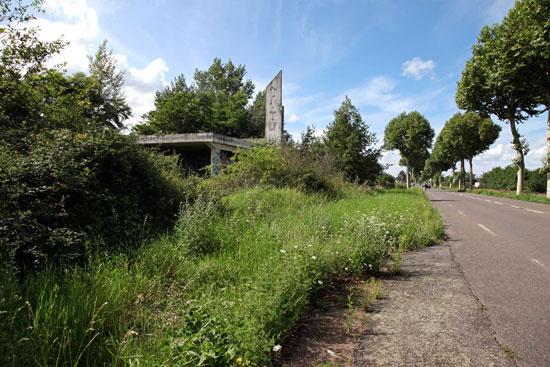 Station abandonnée près de Rouanne