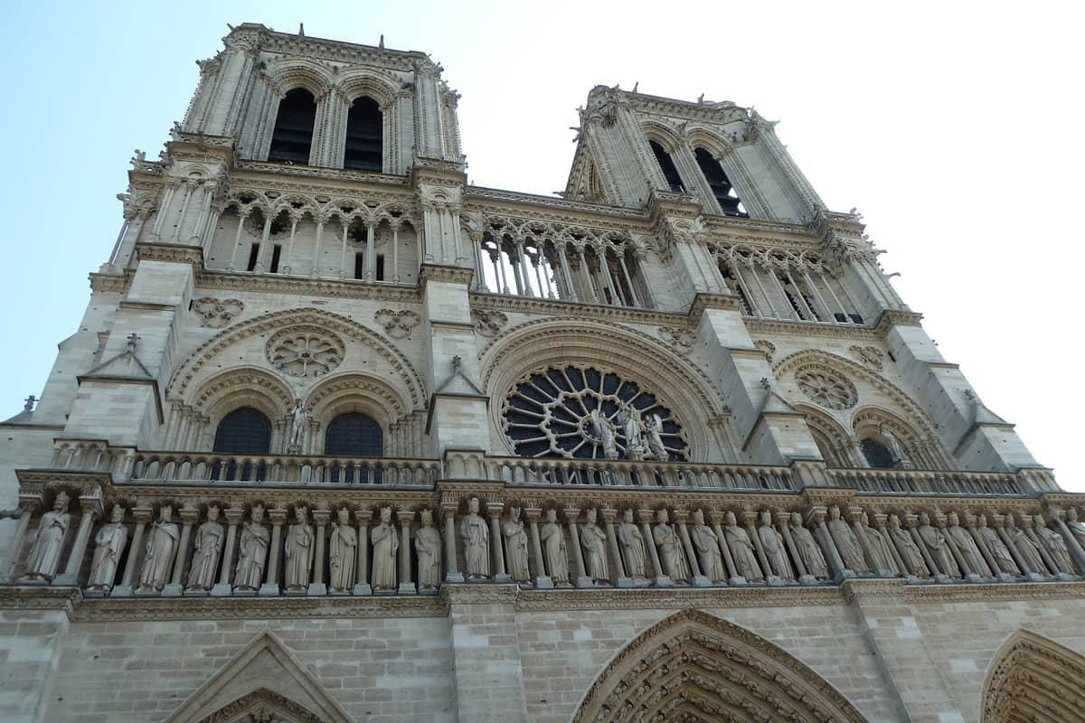 Paris, Notre-Dame, Point Zéro des Routes de France