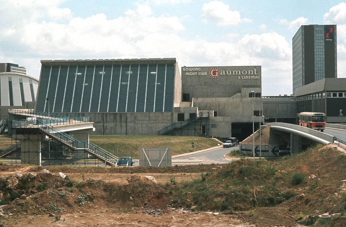 Nationale 7, Évery, la Ville nouvelle en 1975