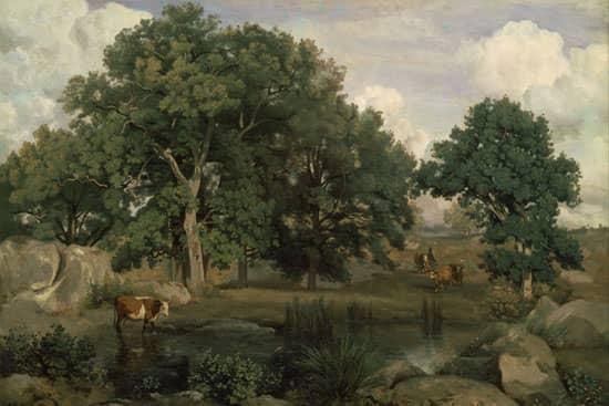 Forêt de Fontainebleau (1846), Jean-Baptiste Camille Corot