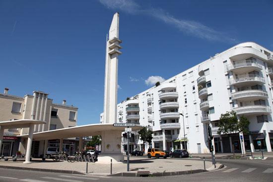 Ancienne station Azur, Valence