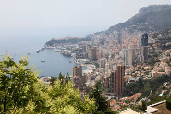 Nationale 7, panorama sur Monaco