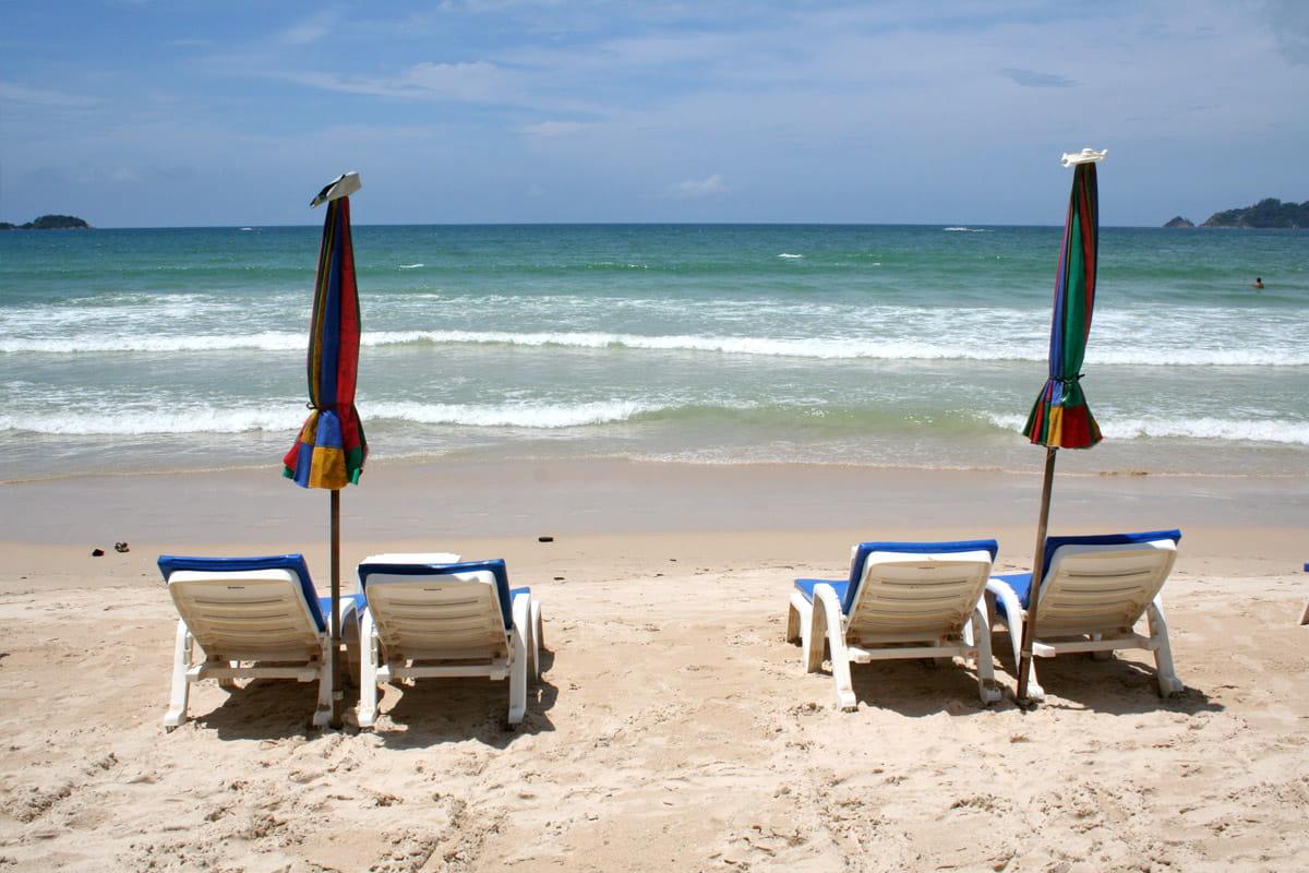 Patong Beach, plage principale de Patong, Phuket