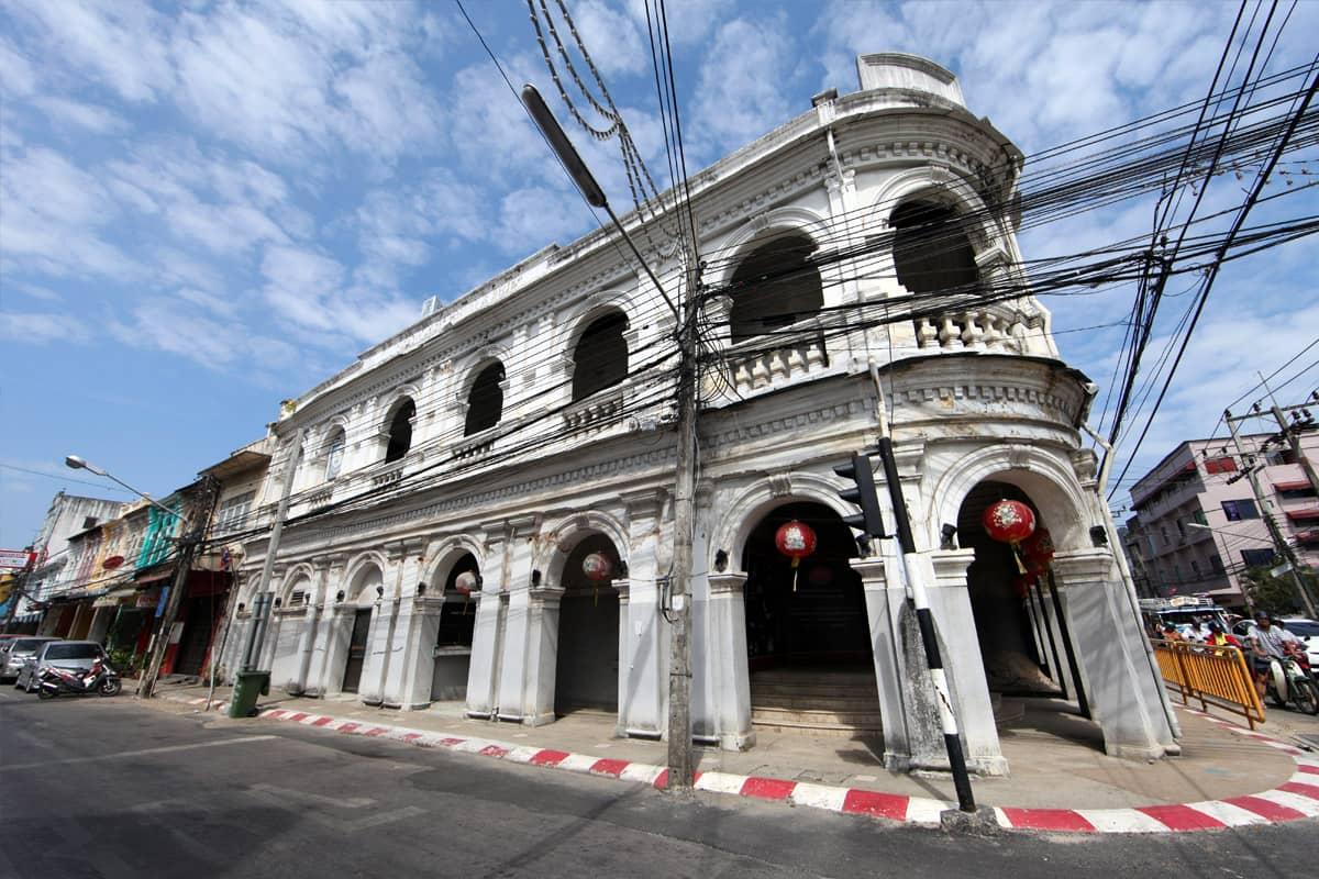 Phuket Town, capitale de l'île de Phuket