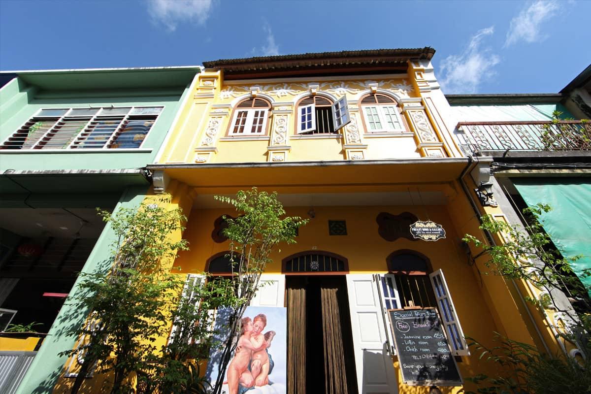 Soi Romanee, ruelle historique de Phuket Town
