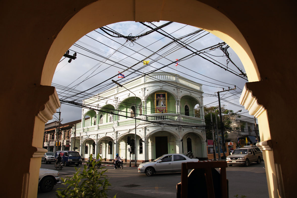 Édifice au coeur du centre historique de Phuket Town