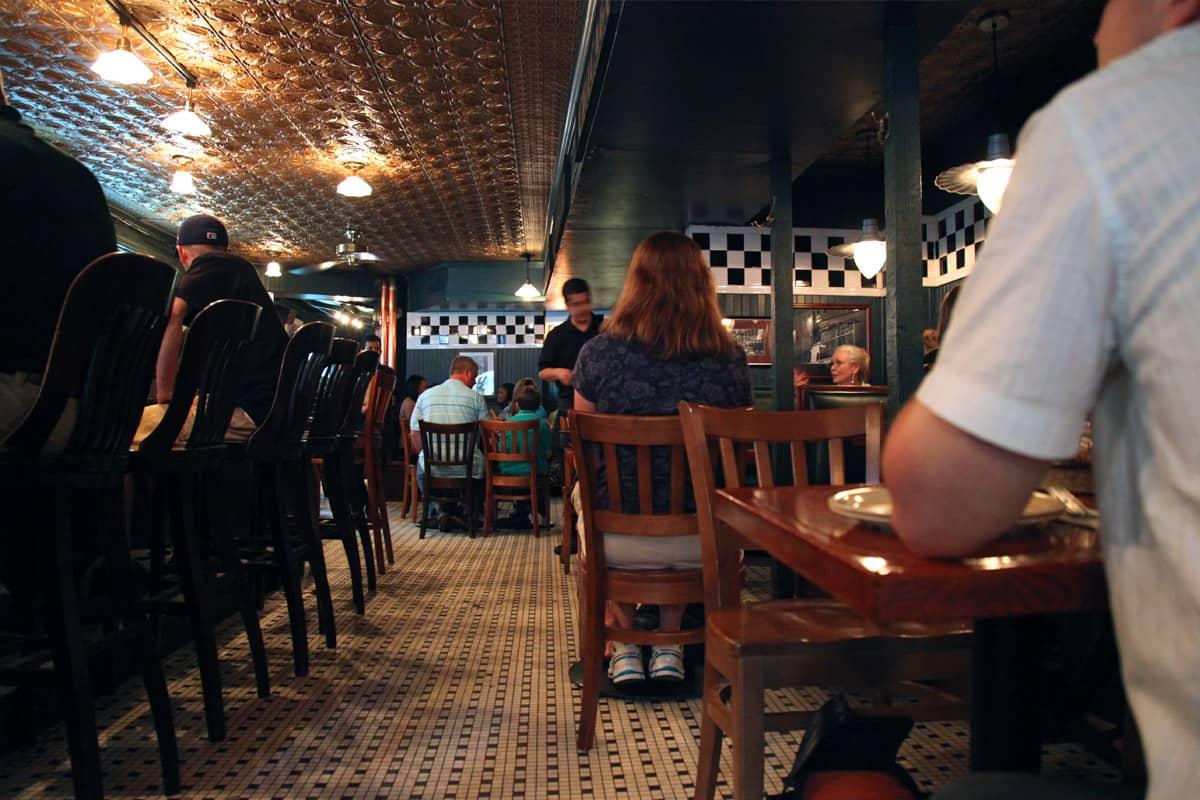 La pizzeria Uno à Chicago