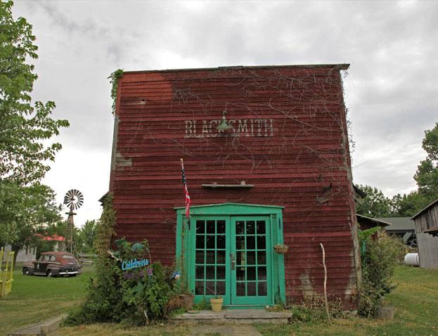 Red Oak, Missouri, reconstitution d'une ville fantôme