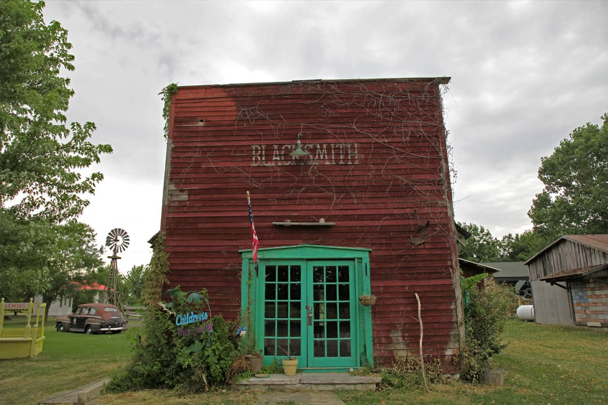 Red Oak 2, Blacksmith Shop